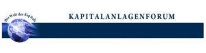 Kapitalanlagenforum Logo Header